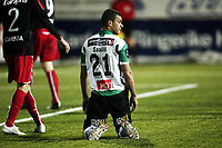 Fotball , 21. november 2010, Play-off til Tippeligaen - Eliteserien, 1.kamp<br /> Hønefoss - Fredrikstad 1-4<br /> <br /> I knestående , Kamal Saaliti  , HBK<br /> <br /> Foto: Anders Hoven , Digitalsport