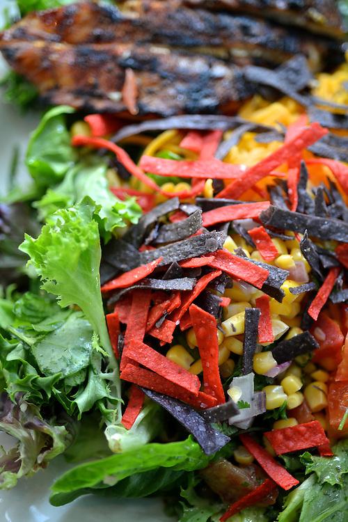 Salad served at Bricco restaurant.