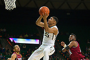 WACO, TX - DECEMBER 17: Al Freeman #25 of the Baylor Bears drives to the basket against the New Mexico State Aggies on December 17, 2014 at the Ferrell Center in Waco, Texas.  (Photo by Cooper Neill/Getty Images) *** Local Caption *** Al Freeman