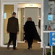 NLD/Den Haag/20070410 - Geboort 3e kind Willem Alexander en Maxima, aankomst bij het ziekenhuis van Koninging Beatrix