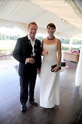 KURT & CATHERINE FRASER at the annual Ham Polo Club Summer Ball held at the club, Petersham Road, Richmond, Surrey on 25th July 2008.<br /> <br /> NON EXCLUSIVE - WORLD RIGHTS
