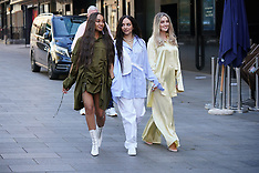 The members of Little Mix - 1 May 2021