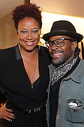 New York, NY-December 3: (L-R) Author/Designer Harriete Cole and Photographer Keith Major attend Harriette Cole's 20th Anniversary Business Celebration held at Lafayette 148 Headquarters on December 3, 2015 in New York City.  (Photo by Terrence Jennings/terrencejennings.com)