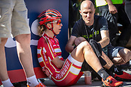 Annika Langvad (DEN) after the Women Elite Cross Country event at the 2018 UCI MTB World Championships - Lenzerheide, Switzerland