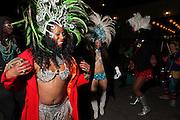 Durham, Mardi Gras. North Carolina.