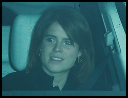 December 20, 2017 - London, London, United Kingdom - Image licensed to i-Images Picture Agency. 20/12/2017. London, United Kingdom. Princess Eugenie arriving for The Queen's Christmas lunch at Buckingham Palace in London. (Credit Image: © Stephen Lock/i-Images via ZUMA Press)