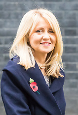 2017-11-02 Esther McVey in Downing Street after being appointed Deputy Chief Whip
