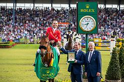 Farrington Kent, USA, Gazelle<br /> CHIO Aachen 2019<br /> Weltfest des Pferdesports<br /> © Hippo Foto - Stefan Lafrentz<br /> Farrington Kent, USA, Gazelle