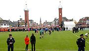 Koninginnedag 2008 / Queensday 2008. <br /> <br /> Koningin Beatrix viert Koninginnedag dit jaar in Friesland. De vorstin en haar familie bezochten op 30 april Makkum en Franeker.<br /> <br /> Queen Beatrix celebrates Queensday this year in Friesland (the Nothren provice in Holland). The Queen and its family visited Makkum and Franeker on 30 April.<br /> <br /> Op de foto/ On the Photo: The Dutch Royal Family playing a local Game / De Prinsen en Princessesen spelen Kaatsen