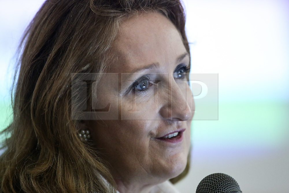 © Licensed to London News Pictures. 12/11/2016. Pontefract, UK. UKIP leadership contender Suzanne Evans speaks at the UKIP Yorkshire & North Lincolnshire Conference 2016. The party is seeking a new leader to replace Diane James, who quit after just 18 days in post. Photo credit : Ian Hinchliffe/LNP