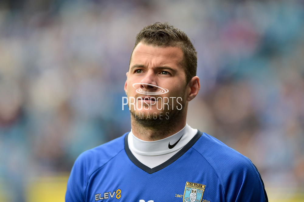 Sheffield Wednesday defender Daniel Pudil (36)  during the EFL Sky Bet Championship match between Sheffield Wednesday and Sheffield Utd at Hillsborough, Sheffield, England on 24 September 2017. Photo by Adam Rivers.