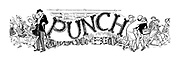 Punch Charivaria title heading (home from school)