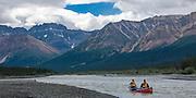 Canada, Mountain River, Northwest Territories, canoe trip