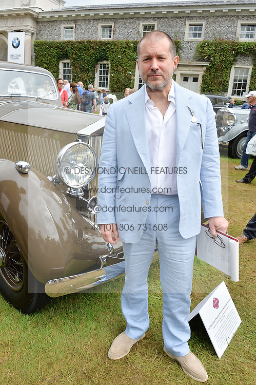 SIR JONATHAN IVE at the Cartier hosted Style et Lux at The Goodwood Festival of Speed at Goodwood House, West Sussex on 26th June 2016.