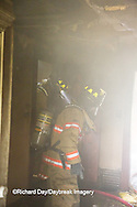 63818-02413 Firefighters at structure fire, Effingham Co., IL