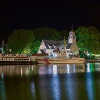 Egersund en sensommers natt.