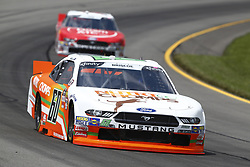 June 1, 2018 - Long Pond, Pennsylvania, United States of America - Chase Briscoe (60) brings his car through the turns during practice for the Pocono Green 250 at Pocono Raceway in Long Pond, Pennsylvania. (Credit Image: © Chris Owens Asp Inc/ASP via ZUMA Wire)