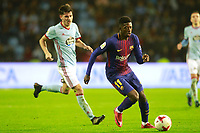 FC Barcelona's Ousmane Dembele during Spanish Kings Cup match. January 4,2018. (ALTERPHOTOS/Acero)
