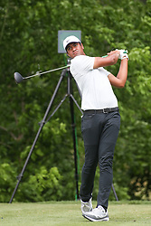May 25, 2019, Fort Worth, Texas, U.S.: TONY FINAU hits from the 6th tee during the third round of the Charles Schwab Challenge at Colonial Country Club in Fort Worth. (Credit Image: © George Walker/Icon SMI via ZUMA Press)