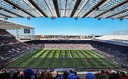 General view during the Champions Cup Final at St James' Park, Newcastle. PRESS ASSOCIATION Photo. Picture date: Saturday May 11, 2019. See PA story RUGBYU European. Photo credit should read: David Davies/PA Wire. RESTRICTIONS: Editorial use only. No commercial use.