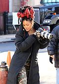 Rihanna filming Oceans Eight
