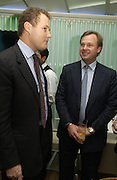 Viscount Rothermere and the Marquis of Milford Haven.  Launch dinner for Island Beauty by India Hicks hosted by Charles Finch and Harvey Nichols Fifth Floor Restaurant. London. .  14  November 2005 . ONE TIME USE ONLY - DO NOT ARCHIVE © Copyright Photograph by Dafydd Jones 66 Stockwell Park Rd. London SW9 0DA Tel 020 7733 0108 www.dafjones.com