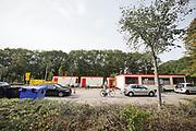 Nederland, Nijmegen, 15-10-2020  Teststraat van de GGD . De GGD test op afspraak . Foto: ANP/ Hollandse Hoogte/ Flip Franssen