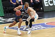 Basketball: Deutschland, 1. Bundesliga, Hamburg Towers -  Alba Berlin, Hamburg, 23.03.2021<br /> Jason Granger (Alba, l.)<br /> © Torsten Helmke