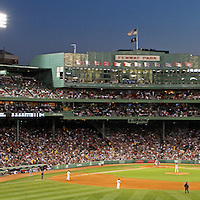 This is the ultimate gift and office, lobby, home or studio decoration for Red Sox Nation and the die hard Red Sox fans. Red Sox Nation at Boston Fenway Park cheering for pitcher Jon Lester on his way to a no-hitter. Boston Fenway Park is considered the jewel of American ballparks and the oldest ballpark in America, now in its 104th year. The romance began in 1912 when a century of jubilation and heartbreak began.<br /> <br /> This iconic Boston sport panorama photography image of Boston Fenway Park is available as museum quality photography prints, canvas prints, acrylic prints or metal prints. Prints may be framed and matted to the individual liking and decorating needs:<br /> <br /> http://juergen-roth.fineartamerica.com/featured/red-sox-and-fenway-park-juergen-roth.html<br /> <br /> Good light and happy photo making! <br /> <br /> My best, <br /> <br /> Juergen <br /> www.RothGalleries.com <br /> https://www.facebook.com/naturefineart <br /> @NatureFineArt