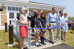 The Ribbon Cutting Ceremony for the New Meigs Point Nature Center at Hammonasset Beach State Park. A Connecticut State Project No: BI-T-601   Northeast Collaborative Architects  Contractor: Secondino & Son