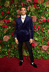 Layton Williams attending the Evening Standard Theatre Awards 2018 at the Theatre Royal, Drury Lane in Covent Garden, London