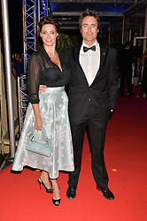SARAH PARISH and JAMES MURRAY at Battersea Dogs & Cats Home's Collars & Coats Gala Ball held at Battersea Evolution, Battersea Park, London on30th October 2014.