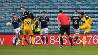 Football - 2018 / 2019 Emirates FA Cup - Sixth Round, Quarter Final : Millwall vs. Brighton<br /> <br /> Jurgen Locadia (Brighton & Hove Albion) stikes hame a late goal to bring hope to Brighton at The Den.<br /> <br /> COLORSPORT/DANIEL BEARHAM
