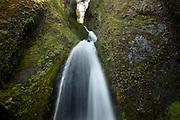 Wahkeena Falls. Columbia River Gorge, Oregon.