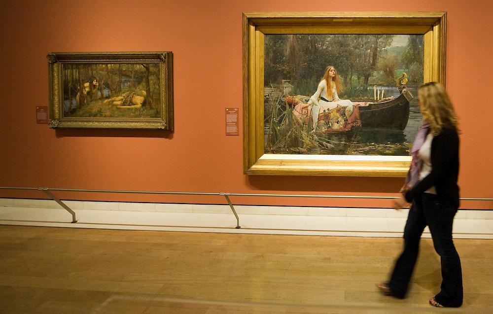 .London June 23rd The Royal Academy of Arts presents a major retrospective exhibition of the Pre-Raphaelite artist, John William Waterhouse RA (1849-1917). J.W. Waterhouse:The Lady of Shallot..***Standard Licence  Fee's Apply To All Image Use***.Marco Secchi /Xianpix. tel +44 (0) 845 050 6211. e-mail ms@msecchi.com or sales@xianpix.com.www.marcosecchi.com