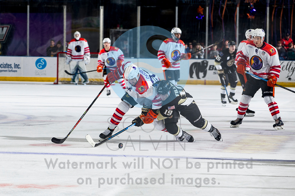 The Youngstown Phantoms defeat the Muskegon Lumberjack 3-2 at the Covelli Centre on October 5, 2019.