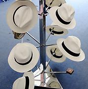 Henley, GREAT BRITAIN,  Hats at Henley, Stewards Enclosure. 2010 Henley Royal Regatta. Rowing Courses, Henley Reach, Henley, ENGLAND<br /> <br /> Friday  02/07/2010<br /> © Peter SPURRIER<br /> <br /> NIKON CORPORATION  NIKON D3  f4.5  1/60sec  28mm  5.5MB