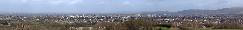 panoramic view of Cheltenham