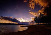 Sunset over Lake Martin, Alabama