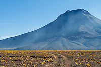 Volcano landscape outside San Pedro de Atacama, Chile