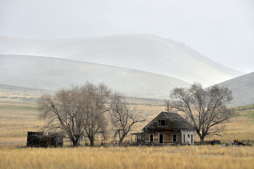 Old ranch house in the West Hills area of Northern Utah.