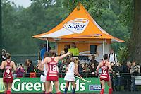 AMSTERDAM - Hockey - RABO Super Serie tent.  Interland tussen de vrouwen van Nederland en Groot-Brittannië, in de Rabo Super Serie 2016 .  COPYRIGHT KOEN SUYK