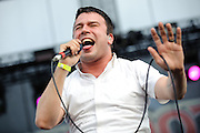 Say Anything performing at The Bamboozle in East Rutherford, New Jersey on May 2, 2010.