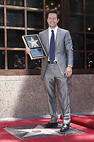 7/29/2010 Mark Wahlberg at his Hollywood Walk of Fame ceremony