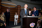 DAME JENNY ABRAMSKY; SIR MICHAEL CAINE; BARBARA WINDSOR; MAYOR BORIS JOHNSON; PROF. JACK LOHMAN, The Galleries of Modern London launch party at the Museum of London on May 27, 2010 in London. <br /> -DO NOT ARCHIVE-© Copyright Photograph by Dafydd Jones. 248 Clapham Rd. London SW9 0PZ. Tel 0207 820 0771. www.dafjones.com.