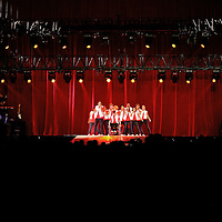 MINNEAPOLIS, MN - JUNE1: The cast of the hit TV show Glee perform during Glee Live! at Target Center on June 1, 2011 in Minneapolis, Minnesota. (Photo by Adam Bettcher/Getty Images)
