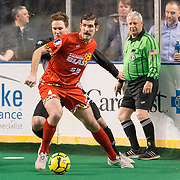 The Baltimore Blast defeat the Syracuse Silver Knights 8-4
