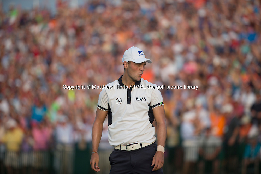 Martin KAYMER (GER) wins his second major at 18th during fourth round US Open Championship 2014,Pinehurst No 2,Pinehurst,North Carolina,USA.