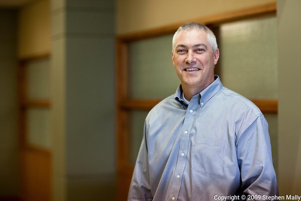Mike Daugherty at Principal Financial in Cedar Falls, Iowa on Thursday October 29, 2009