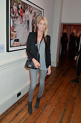 CAROLINE STANBURY at a private view of Chris Stein/Negative: Me, Blondie And The Advent Of Punk, held at Somerset House, The Strand, London on 5th November 2014.